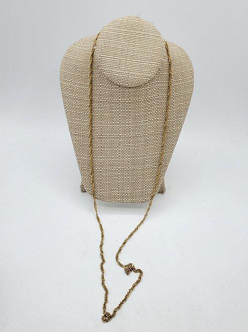 Vintage Vendome Goldtone Twist Chain