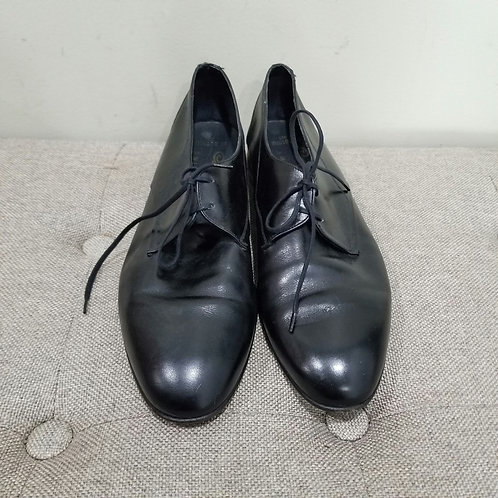 Vintage Bally Continentals Black Lace Up Shoes - size 10D