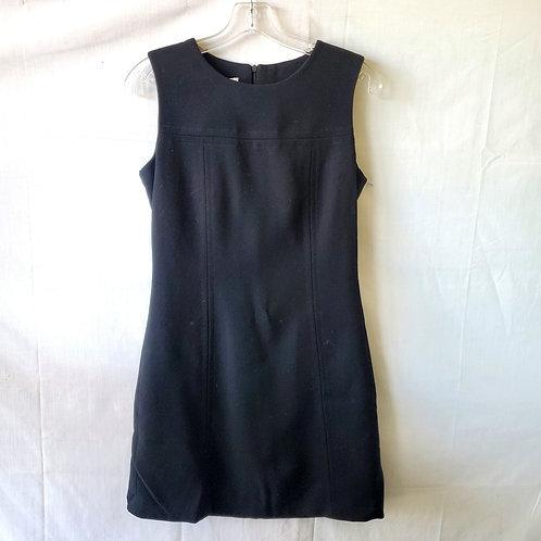 Vintage Sportstaff Wool Shift Dress - size 42/S