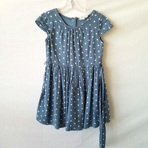 GAP Kid's Polka Dot Dress - size S