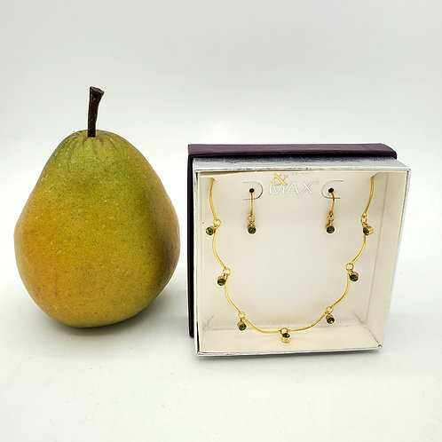 Madison & Max Necklace & Earring Set - New