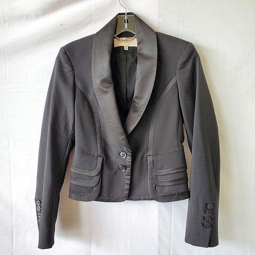Karen Millen Tuxedo Blazer with Peplum - size 4
