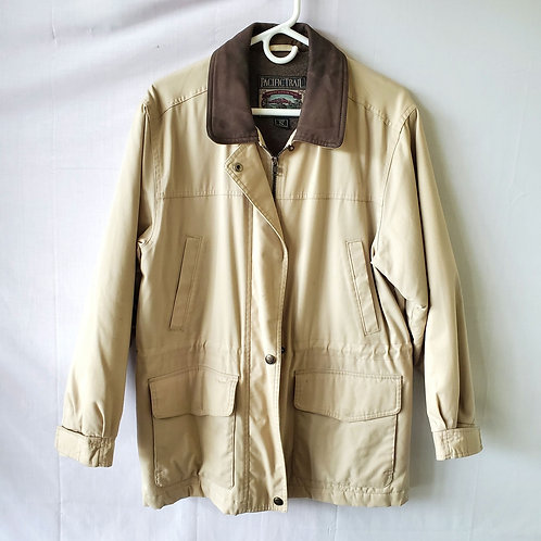 Pacific Trail Fleece Lined Canvas Jacket - S