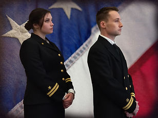 Jo and Kaffee on Flag.jpg