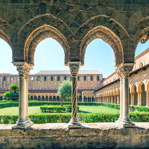 Chiostro di Monreale, Palermo