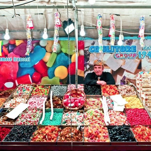 Venditore di caramelle