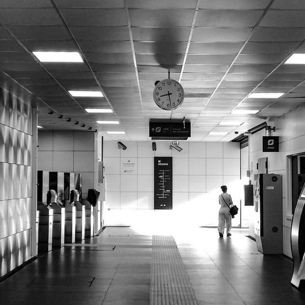 Into the metro