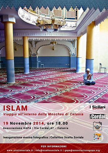 Mostra fotografica Islam. Viaggio all'interno della Moschea di Catania