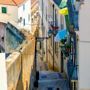 Tra i vicoli di Lisbona, Portogallo