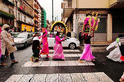 Rituale del Cavadee, Catania