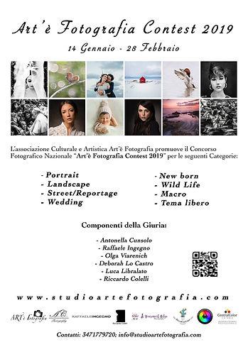 Locandina Art'è Contest Fotografi 2019
