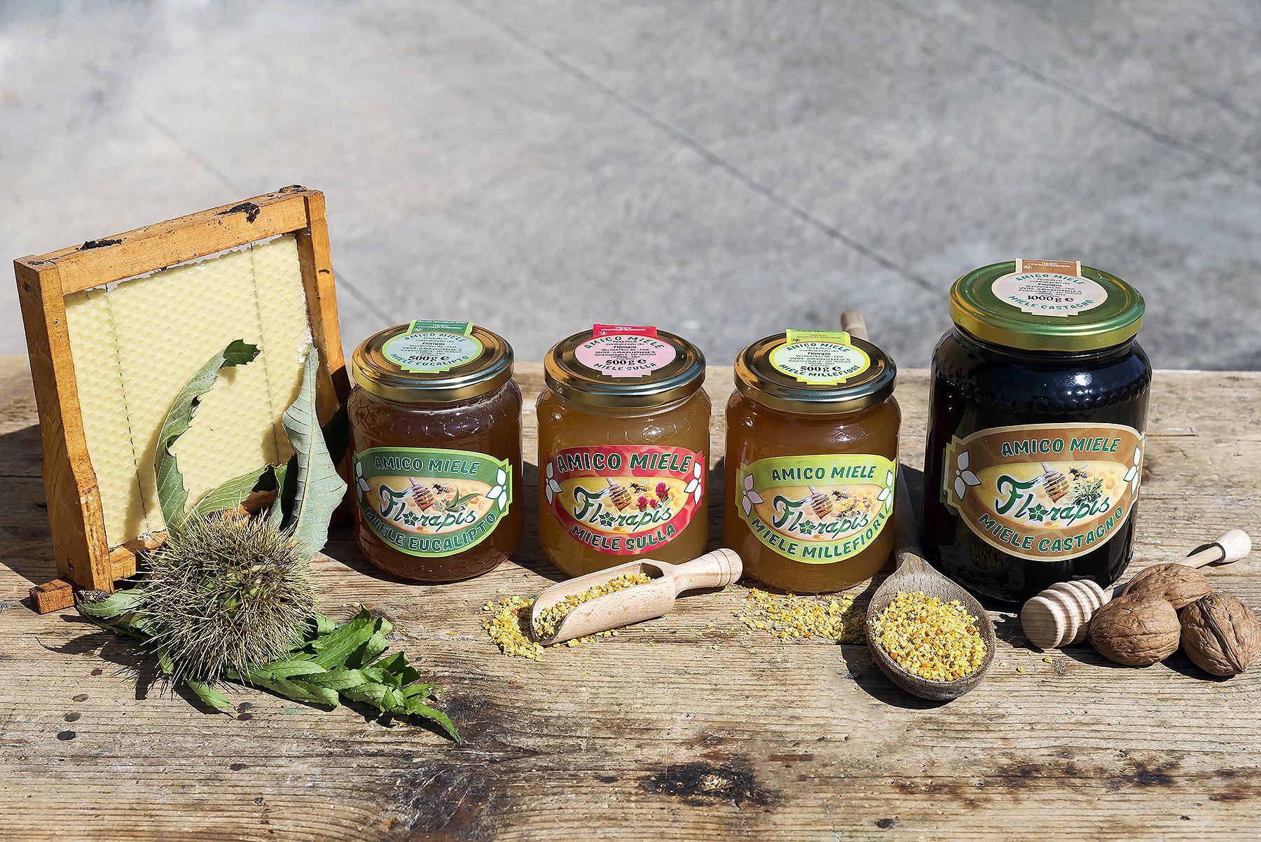 Composizione miele Florapis