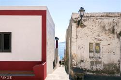Antico e moderno. Isola di Salina