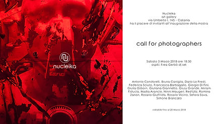 Call for Photographers Nucleika Art Gallery