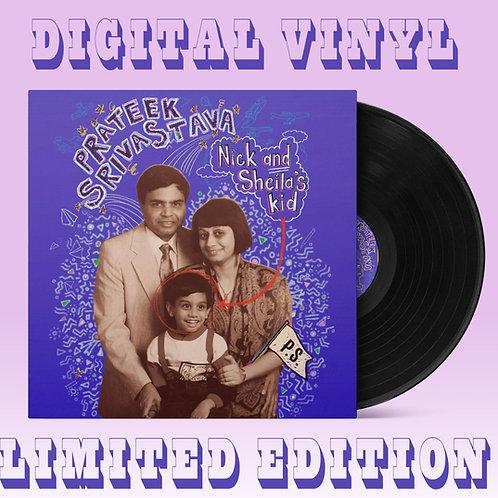 Nick and Sheila's Kid Digital Vinyl Package
