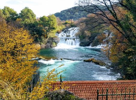 Fall at Krka National Park