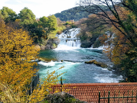 Fall at Krka National Park