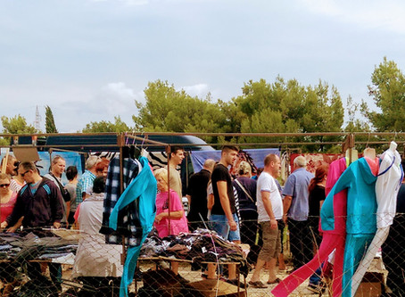 Day trip to Benkovac flee market