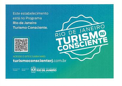 Certificado Turismo Consciente Tailor Ma