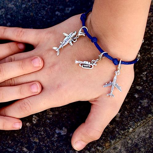 knapsack club charm bracelet