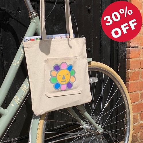 knapsack tote bag