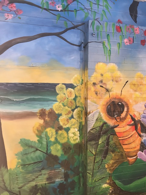 Samantha Wortelhock Mural Artist and Visionary Painter Tweed Heads Library 7