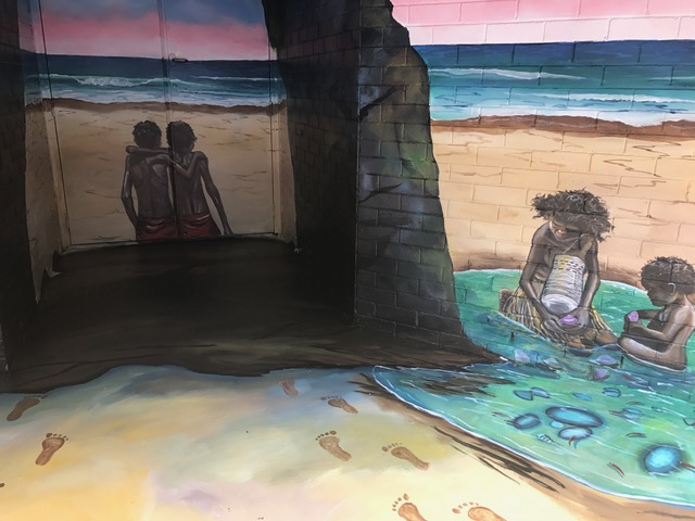 Samantha Wortelhock Mural Artist and Visionary Painter Tweed Heads Library 4