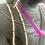 Thumbnail: Attache à lunette et/ou masque perlée