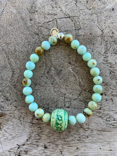 Bracelet en Jade Albite Collection Clay
