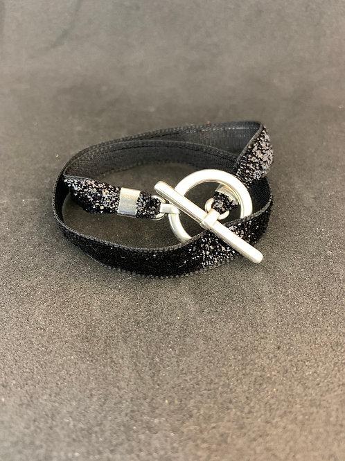 Bracelet ruban pailleté