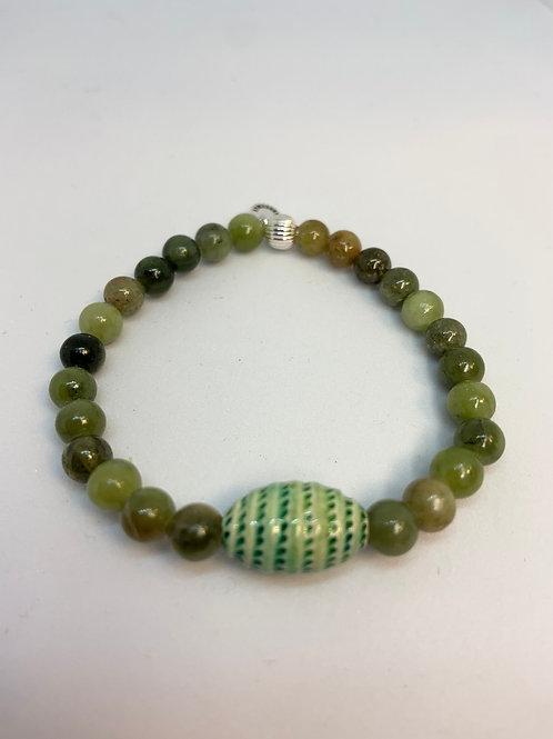 Bracelet en Jade Collection Clay