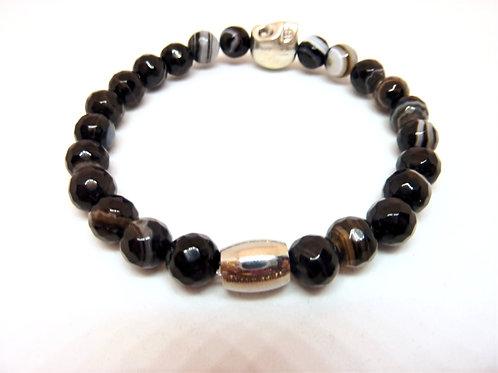 Bracelet en Agate du Brésil Collection BIG