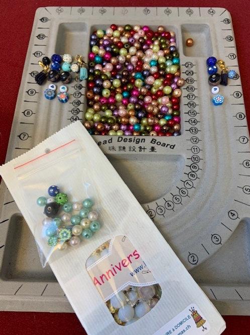 Kit perles à personnaliser pour chaque occasion