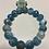 Thumbnail: Bracelet en Agate bleue azur