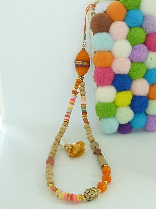"""Bijou pour téléphone """"Orange"""""""