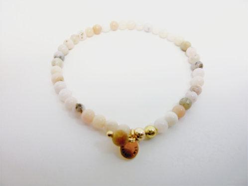 Bracelet en Opale rose