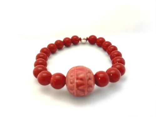 Bracelet en perles de Marjorca