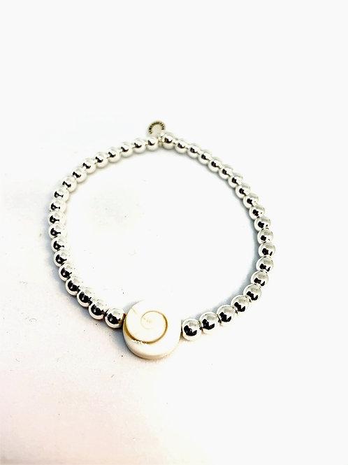 Bracelet en Hématite intercalaire St-Lucie