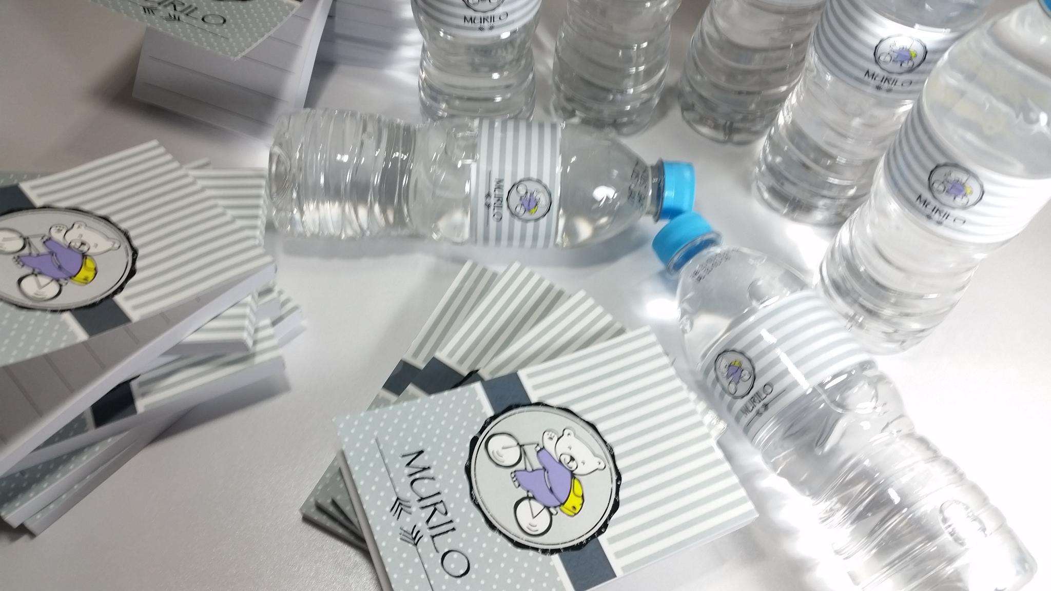 REF 0536 - Bloquinho + Rotulo Agua