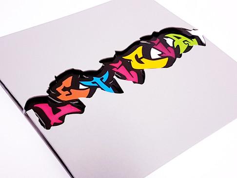 Convite Cartonado Grafite