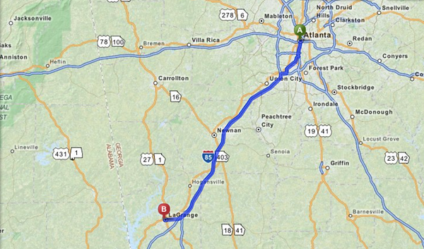 West Georgia Psychiatric Center LaGrange GA Directions Maps - Georgia map directions