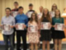 Award Night for 2017 Community Foundation Scholarships   Parke County Community Foundation   Rockville, IN