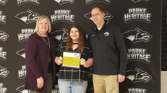 2020 Parke County Lilly Endowment Community Scholar