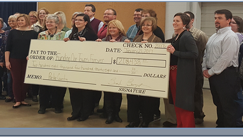 Town Fund Efforts a Huge Success