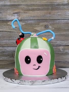 Coco Melon Smash Cake