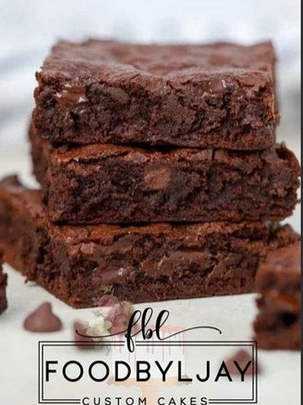 Tray of Regular Brownies