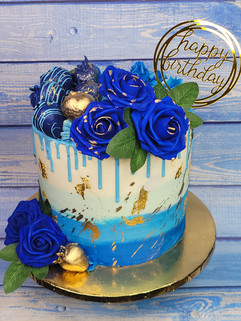 Buttercream Ombre with Berries