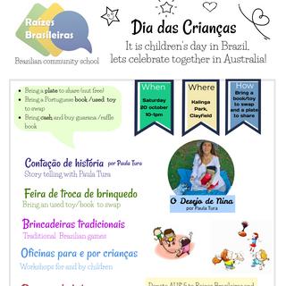 Brazilian Children's Day 2018