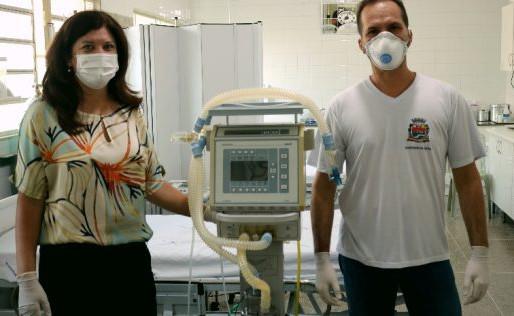 Prefeitura de Monte Alto adquire dois novos respiradores