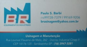 BR Usinagem www.brusinagem.com.br